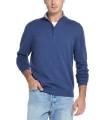 weatherproof vintage men's quarter-zip pullover sweater