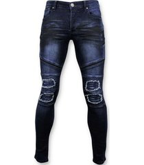 skinny jeans true rise biker jeans ripped - 3027 -
