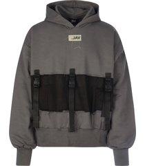 val kristopher strap pull up hoodie