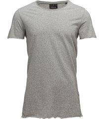 raw edge tee t-shirts short-sleeved grå junk de luxe