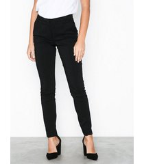 pieces pclogan slim mw ank pant-jj/noos slim
