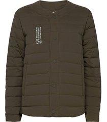 keanu light padded jacket gevoerd jack groen wood wood