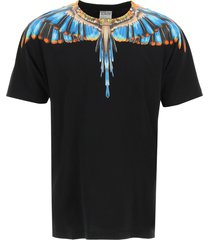 marcelo burlon grizzly wings print t-shirt