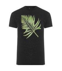 camiseta masculina floresta da tijuca - preto