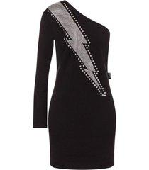 uitgerekte fleece jurk dondert