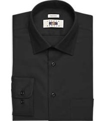 joseph abboud black twill dress shirt