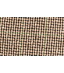 women's boss vanala button front plaid a-line skirt, size 10 - brown