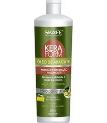 condicionador de óleo de abacate skafe keraform 500ml
