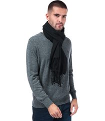 mens woody woven scarf