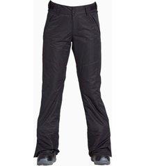 pantalón de ski mujer malla negro billabong