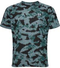 m streaker 2.0 inverse ss t-shirts short-sleeved blå under armour