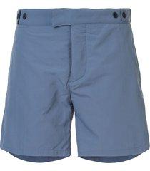 frescobol carioca tailored swim shorts - blue