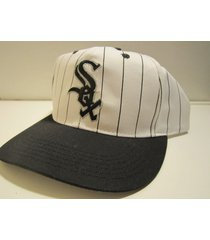 chicago white sox mlb vintage late '90's youth pinstripe cap (new) / d. pearson