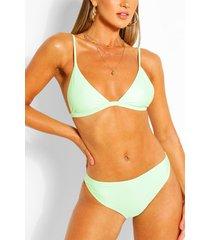 mix & match cheeky bum bikini brief, mint