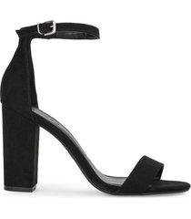 amaro feminino sandália básica salto alto, preto