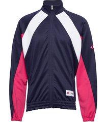 blocked track jacket archive archive sweat-shirt tröja blå björn borg