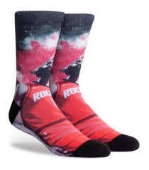 parkway men's houston rockets voltage crew socks