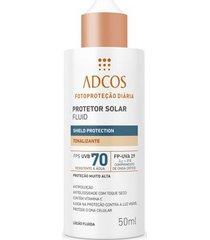 protetor solar fluid shield protection fps 70 tonalizante - 50ml