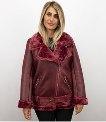 z-design lammy jas dames – bordeaux