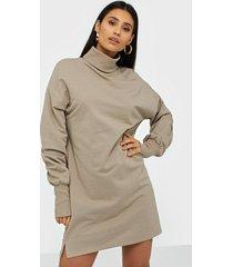 nly trend long turtleneck sweat dress loose fit dresses