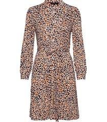 vasha meadow jersey shirt dres knälång klänning multi/mönstrad french connection