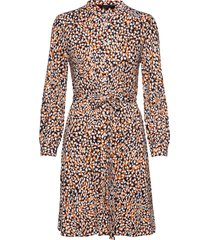vasha meadow jersey shirt dres knälång klänning multi/mönstrad french connection