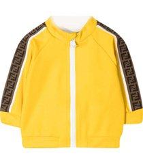 fendi yellow jacket