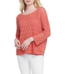 women's nic+zoe row boat sweater