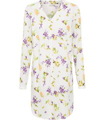 camicetta lunga a fiori (bianco) - bodyflirt
