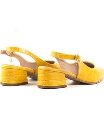 tacones para mujer cosmos amarillo-1