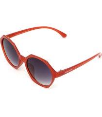 óculos de sol hang loose paradise vermelho/preto - kanui