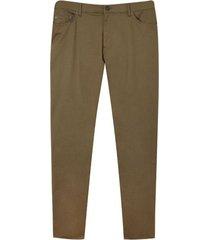 pantalon hombre 5 bolsillos con taches