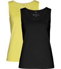 top (pacco da 2) (giallo) - bpc selection