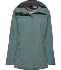 hiker next generation women's drymaxx shell jacket outerwear sport jackets grön halti