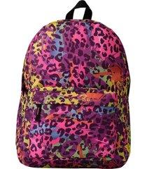 mochila la borsa mochila estampada - roxo - feminino - dafiti