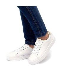 tênis sapatênis casual jl shoes branco