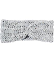 fascia in maglia con perle (grigio) - bpc bonprix collection