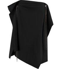 givenchy asymmetric skirt