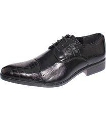 zapato formal negro casatia