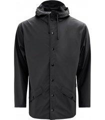 rains regenjas jacket black-xxs / xs