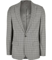 river island mens big and tall check skinny fit suit jacket