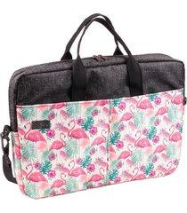 torba nuff na laptopa 15'6 - flamingi