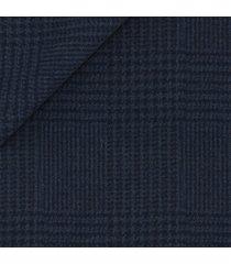 pantaloni da uomo su misura, tallia di delfino, honey way blu galles, autunno inverno