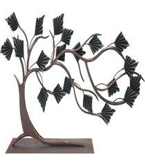 objeto decorativo- pashmina- objeto decorativo- marrom - marrom - dafiti