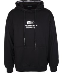 pharmacy industry black man hoodie with logo