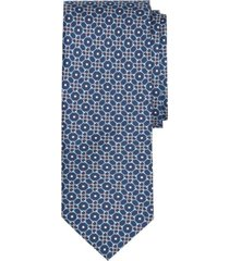 corbata tossed bits print azul brooks brothers