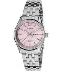 reloj casio kcasltp-1335d-5a-gris
