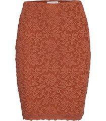 skirt kort kjol orange rosemunde