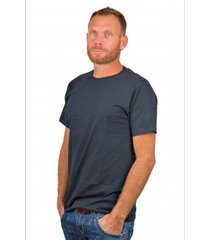 alan red t-shirt derby blue ( extra long)