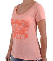 camiseta o'neill flowerchild feminina